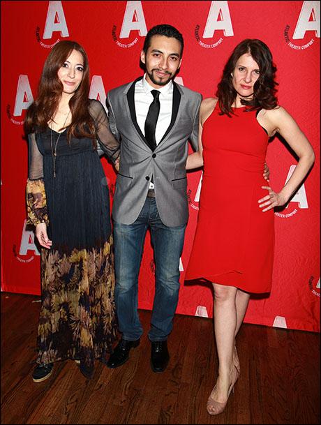 Clea Lewis, Andrew Mayer and Mia Barron