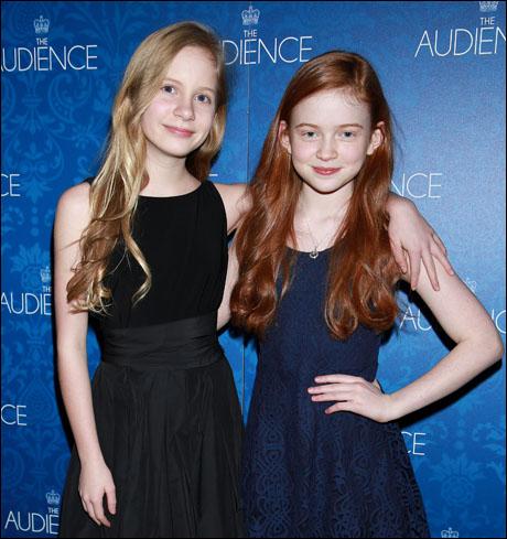 Elizabeth Teeter and Sadie Sink