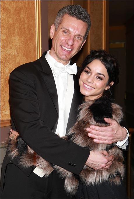 James Moore and Vanessa Hudgens