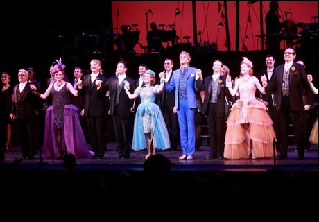 Douglas Sills, Colin Donnell, Patti Murin, Tommy Tune, Danny Gardner, Erin Mackey and Jeff Hiller