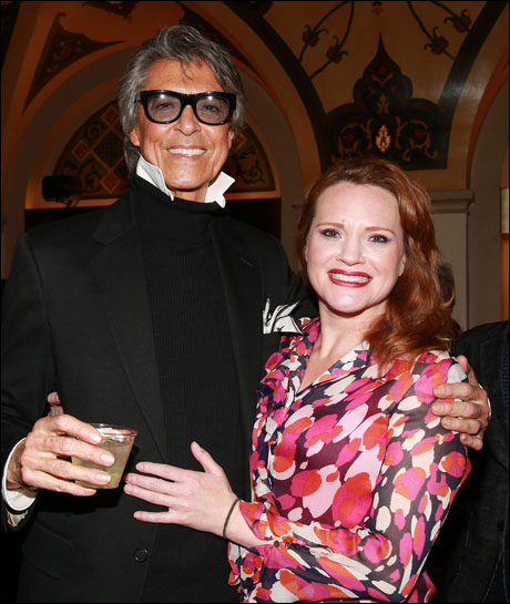Tommy Tune and Jennifer Laura Thompson