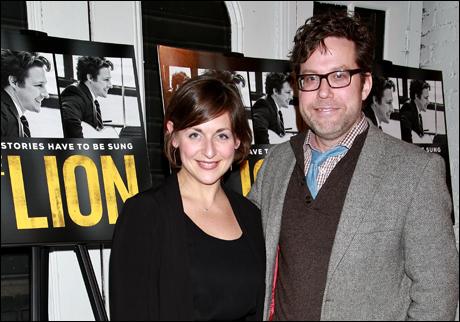 Mandy Greenfield and Sean Daniels