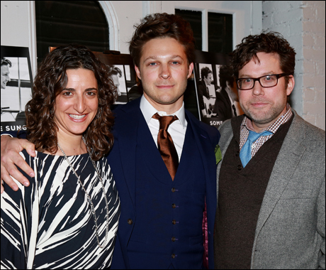Eva Price, Benjamin Scheuer and Sean Daniels