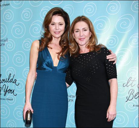 Jane Leeves and Peri Gilpin