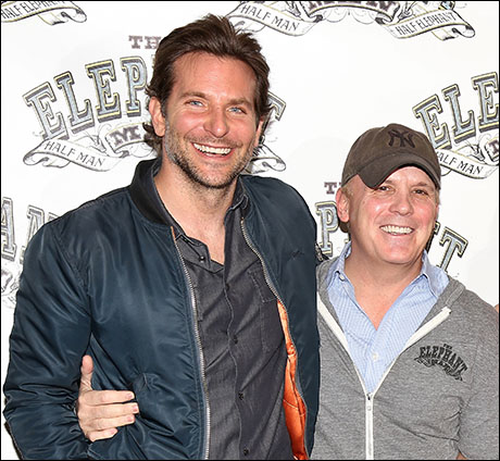 Bradley Cooper and Scott Ellis