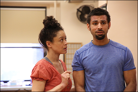 Amber Gray and Ian Lassiter