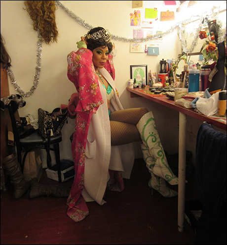Soara Joye Ross is looking fabulous as the Princess Who Kissed The Frog