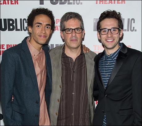 Kyle Beltran, Jonathan Lethem and Adam Chanler-Berat