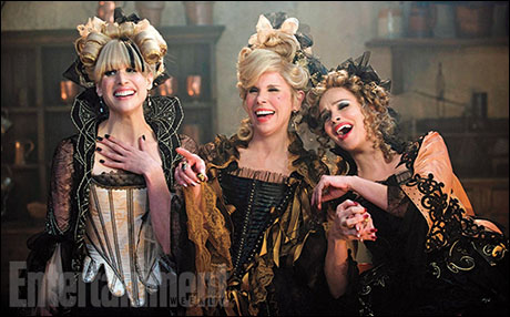 Lucy Punch, Christine Baranski and Tammy Blanchard