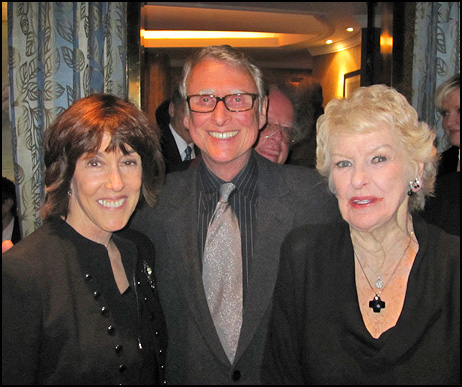 Nora Ephron, Mike Nichols and Elaine Stritch at the Cafe Carlyle