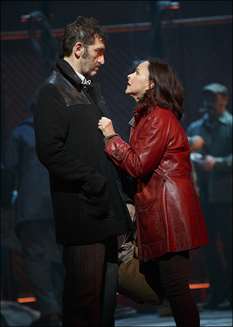 Jimmy Nail and Sally Ann Triplett in The Last Ship