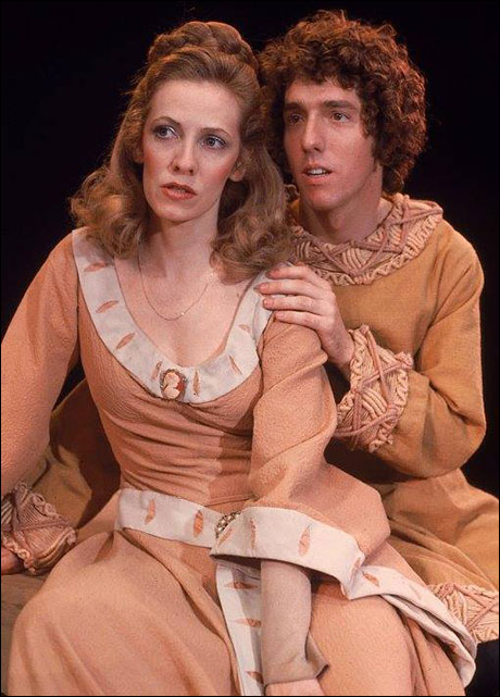 Betty Buckley and Michael Rupert in Pippin