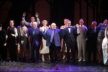 Anthony Van Laast, Henry Krieger, Bill Russell, Bill Condon and cast