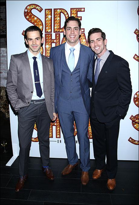 Con O'Shea-Creal, Barrett Martin and Michael Jon Slinger