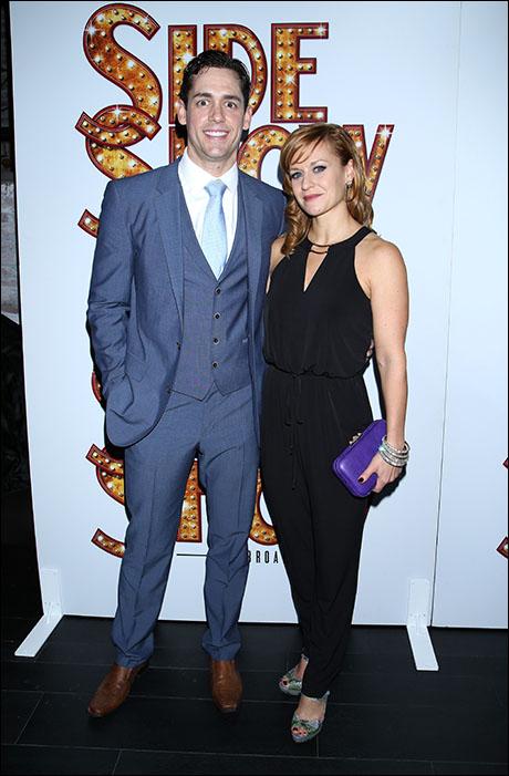 Barrett Martin and Megan Sikora