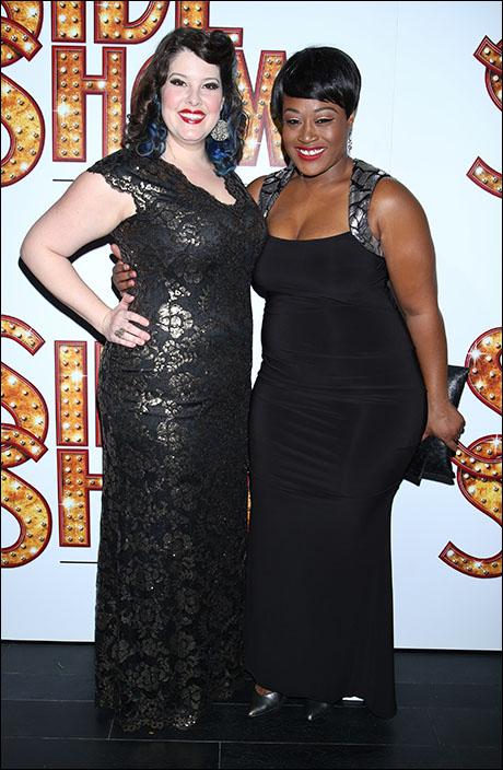 Lauren Elder and Charity Angel Dawson