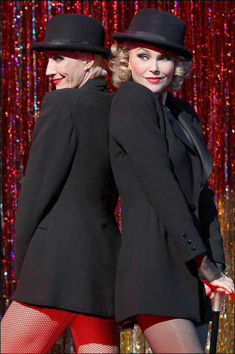 Amra-Faye Wright and Christie Brinkley