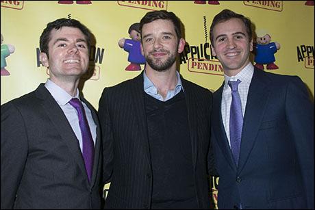 Greg Edwards, Michael Urie, Andy Sandberg