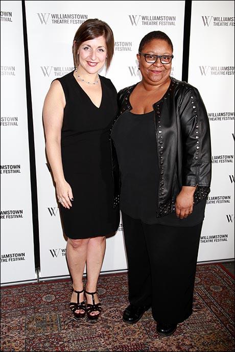 Mandy Greenfield and Myra Lucretia Taylor