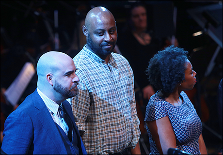 Eric Anderson, Alvin Crawford and Andrea Jones-Sojola