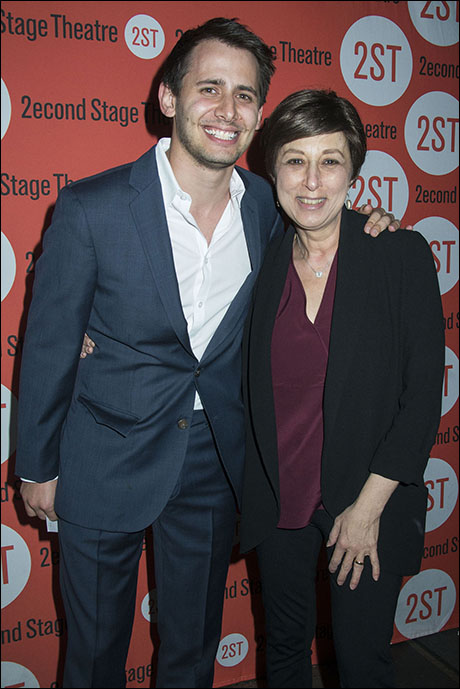 Benj Pasek and aunt