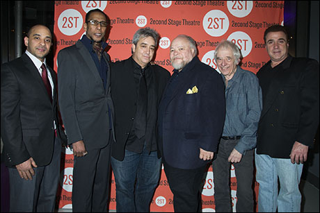 Victor Almanzar, Ron Cephas Jones, Stephen Adly Guirgis, Stephen McKinley Henderson, Austin Pendleton and Michael Rispoli