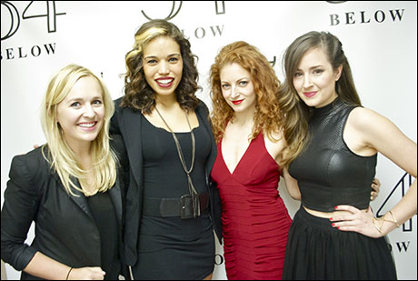 Julia Mattison, Ciara Renée, Lauren Molina and Hannah Elless