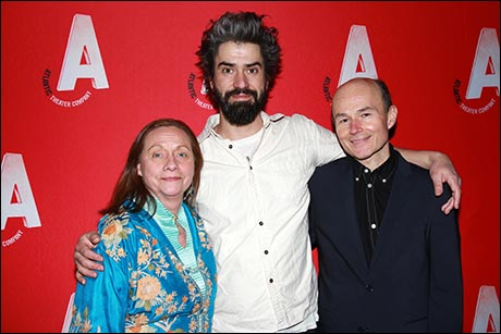 Dale Soules, Hamish Linklater and Henry Stram