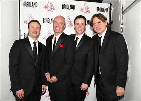 The Band: Michael Croiter, Dan Willis, Michael Patrick Walker and Jim Donica