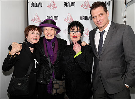 Neile Adams, Julie Wilson, Chita Rivera and Holt McCallany