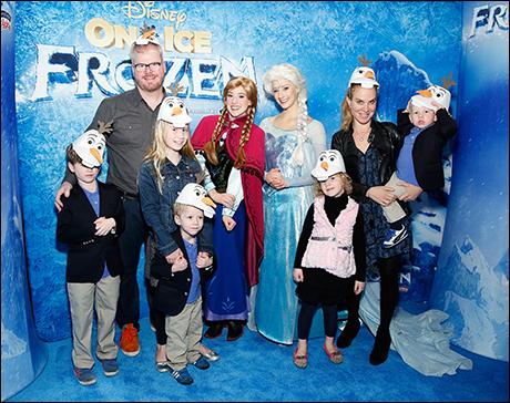 Jim Gaffigan and family