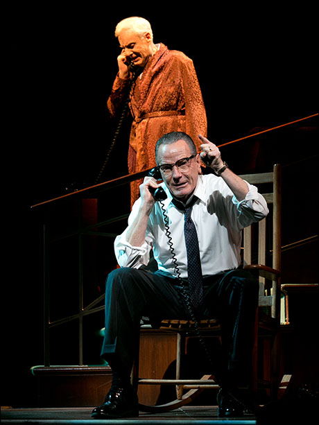 McMartin's most recent Broadway credit was Sen. Richard Russell in All the Way