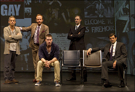 Harelik (right) played Ben Weeks in the acclaimed Broadway production of The Normal Heart