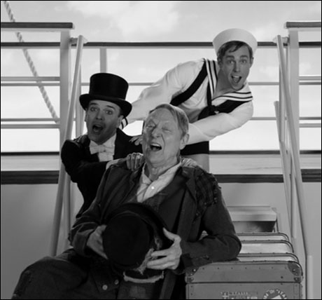 Nic Rouleau, Jefferson Mays and John Cullum make a cameo as the stars of the 1938 musical Daddy's Boy