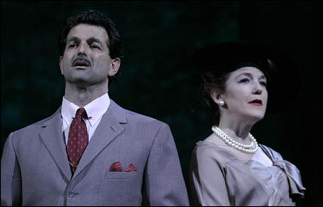 Harelik played Signor Naccarelli in the original production of Light in the Piazza