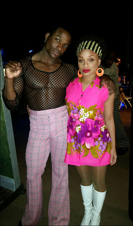 Devin L. Roberts and Malayka Reid are fit and fabulous.