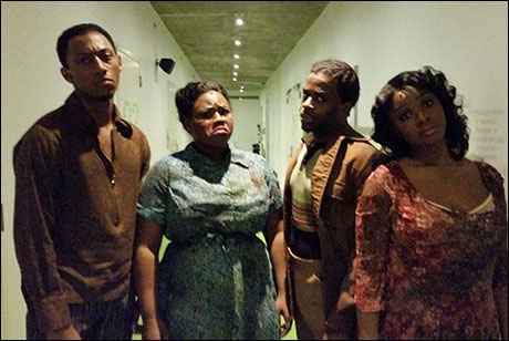 After the Cicero fight the principals, (Brandon, Tiffany, Cedric, and Saycon) are worn out and tattered.