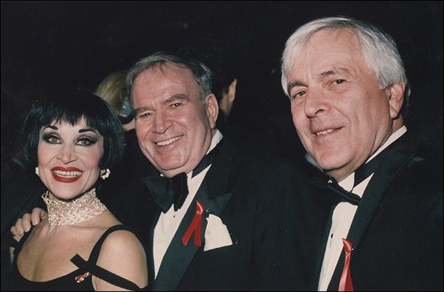 Chita Rivera, Fred Ebb and John Kander