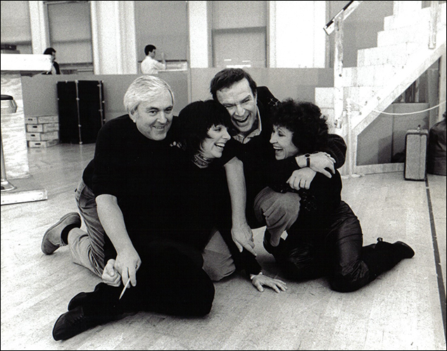 John Kander, Liza Minnelli, Fred Ebb and Chita Rivera