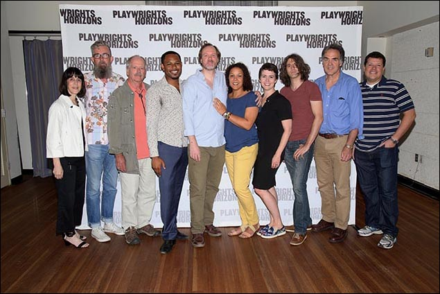 Leslie Marcus, Les Waters, Philip Kerr, Larry Powell, Andrew Garman, Linda Powell, Emily Donahoe, Lucas Hnath and Tim Sanford