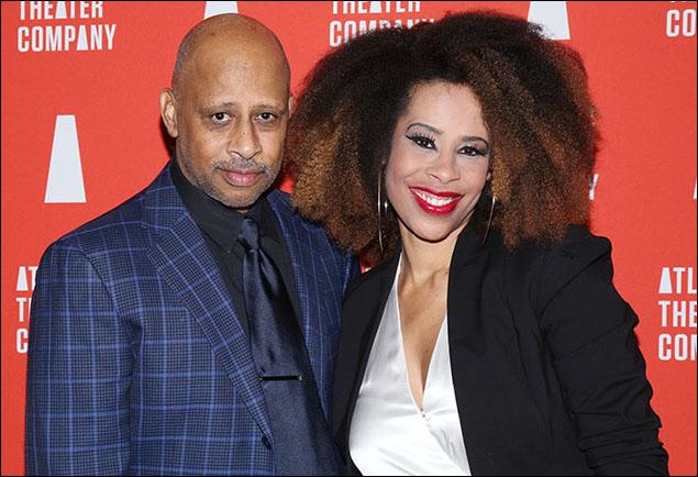 Ruben Santiago-Hudson and Dominique Morisseau