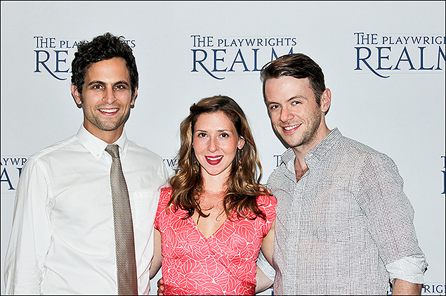 Matt Dellapina, Miriam Silverman, and Nick Westrate