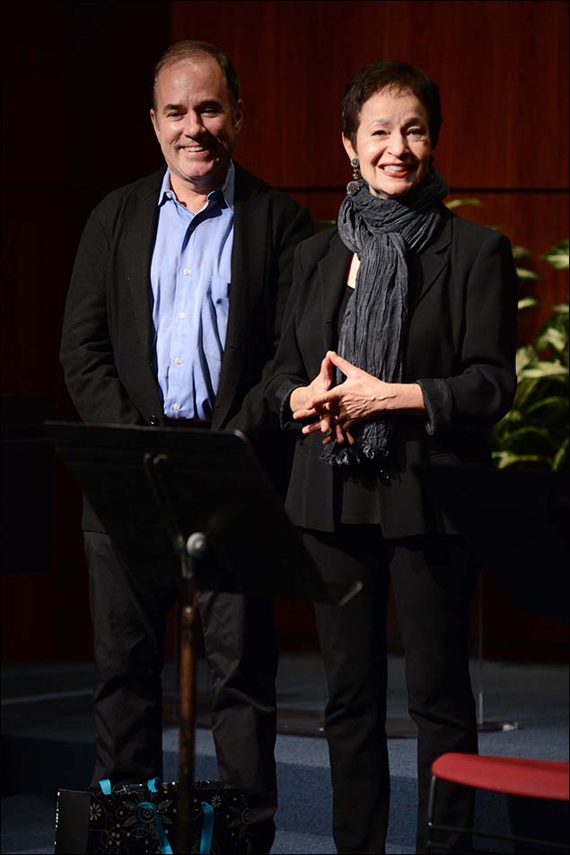 Founding Program Chairs Stephen Flaherty & Lynn Ahrens
