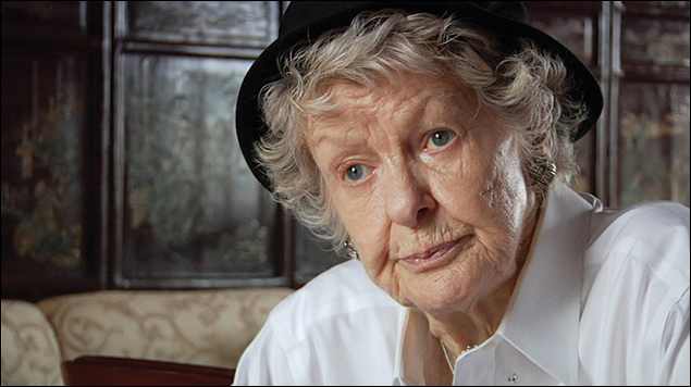 """The late Elaine Stritch in the film """"Shoot Me"""""""