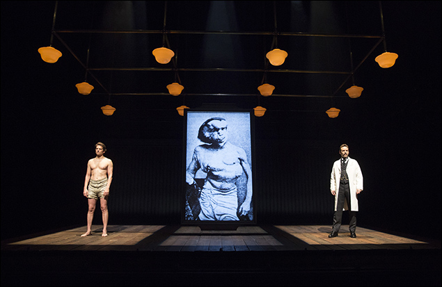 Bradley Cooper and Alessandro Nivola inThe Elephant Man, nominated for Best Revival of a Play