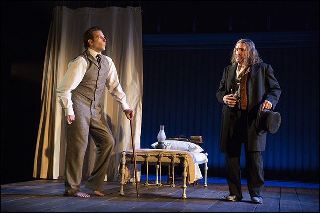 Bradley Cooper and Anthony Heald inThe Elephant Man, nominated for Best Revival of a Play