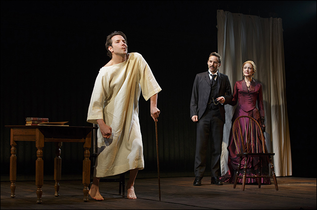 Bradley Cooper, Alessandro Nivola and Patricia Clarkson inThe Elephant Man, nominated for Best Revival of a Play