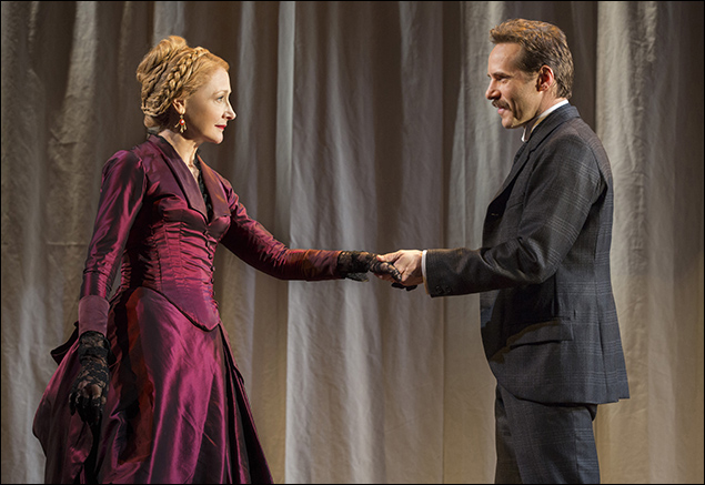 Alessandro Nivola and Patricia Clarkson inThe Elephant Man, nominated for Best Revival of a Play