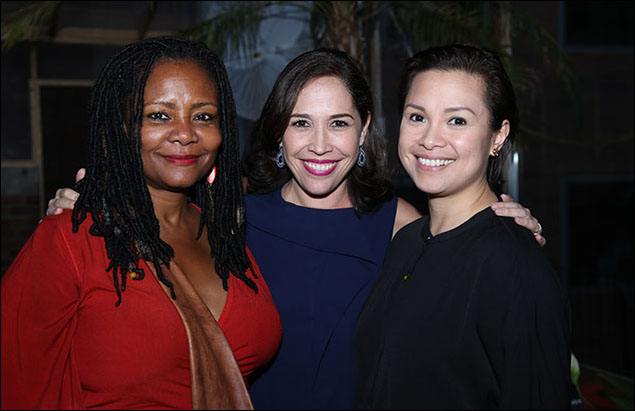 Tonya Pinkins, Andréa Burns and Lea Salonga