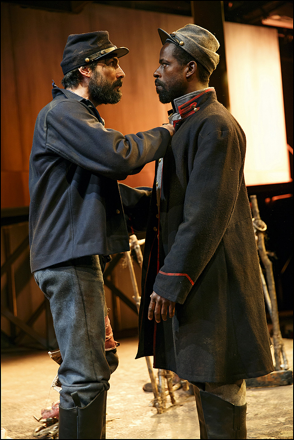 Louis Cancelmi and Sterling K. Brown